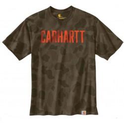CARHARTT CAMO LOGO T-SHIRT...